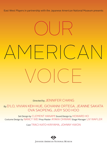 Our American Voice program cover