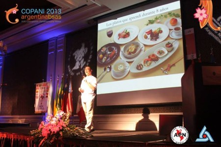 Chef Takehiro Ohno's presentation is one of the highlights of the convention.