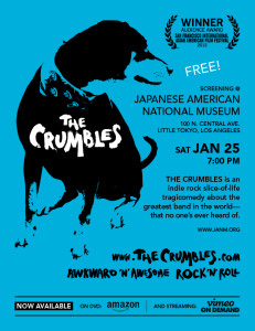 The Crumbles @ JANM Sat. Jan 25