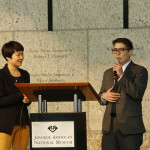 The 2014 Community DOR was emceed by riKu Matsuda and Traci Ishigo. Photo by Russell Kitagawa.