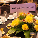 The Gala would not be possible without the support of our many sponsors. Thanks especially to Signature Sponsor Paul I. & Hisako Terasaki!