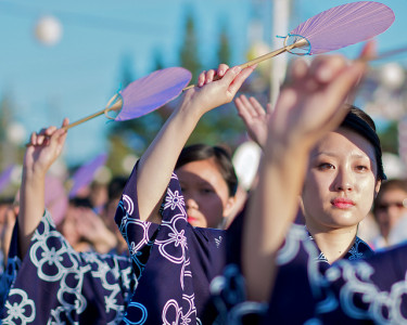 Bon Odori, San Jose Obon Festival, 2012. Photo by --Mark-- via Flickr Creative Commons.