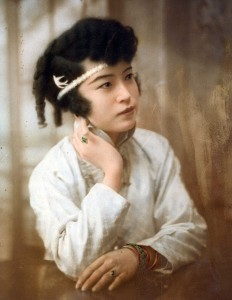 Violet Wong in The Curse of Quon Gwon. The Violet Marion Collection. Courtesy of Arthur Dong.