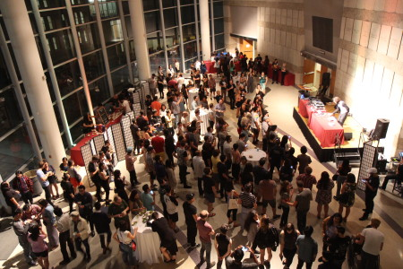 More than 2,000 people attended the opening night festivities. Photo by Richard Murakami.