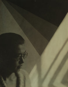 J. T. Sata, Untitled (Portrait), 1928, gelatin silver print. Partial and promised gift of Frank and Marian Sata and Family. Collection of the Japanese American National Museum.